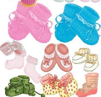 宝宝毛线鞋子
