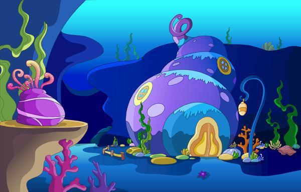 屏保图片动画海底世界