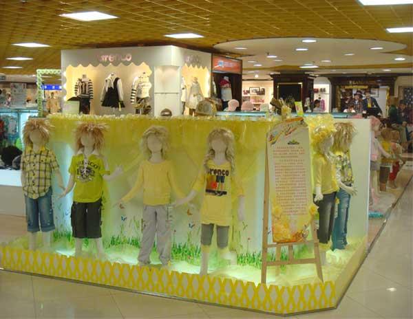 青青果品牌童装店