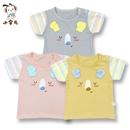 夏季新款童装宝宝儿童短袖潮款T恤上衣打底卡通舒适薄款