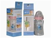 婴姿坊晶钻玻璃奶瓶