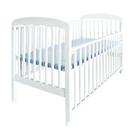 宝贝可爱婴儿木床(白色)