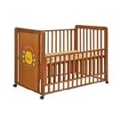 黄色小鸭豪华榉木婴儿床