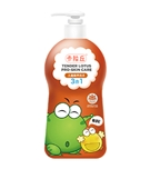 卡拉丘绿豆蛙儿童亲护洗沐3合1