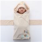 欧孕彩棉条纹婴幼儿抱被
