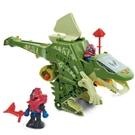 伟易达变形恐龙战神棘背龙