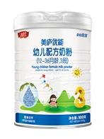 美庐优能婴幼儿配方奶粉(金钻优佳2018版)