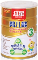 红星邦儿能产品系列奶粉3段