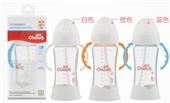 雀氏防爆防胀气晶钻玻璃(宽口径)自动奶瓶250ml
