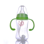 160ML三角柄自动吸PP奶瓶