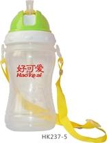 好可爱--带刻度360ml弧形儿童吊带水壶