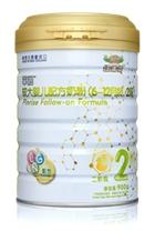 平润较大婴儿配方奶粉2段900g
