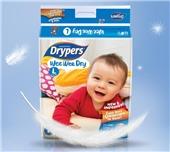 Drypers甘帕纸尿裤L