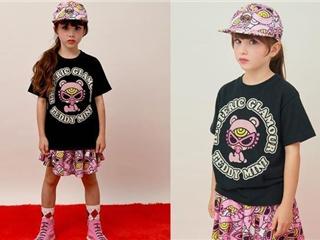 嘻哈摇滚范儿的黑超奶嘴童装 引领国内童装新潮流
