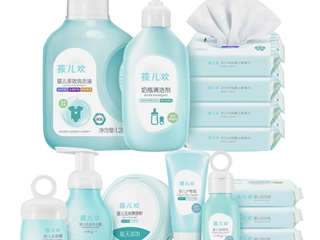 孩儿欢婴童洗护营造光滑水润小脸蛋 护肤要从宝宝抓起