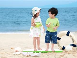 2021全棉时代婴童夏系列 行走在梦幻海洋世界