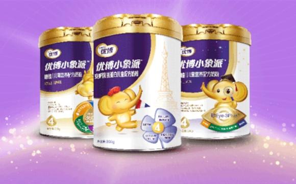 圣元新品优博小象派儿童奶粉 营养均衡全面助力孩子成长