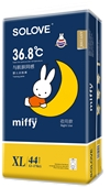 SOLOVE ANYONE系列米菲婴儿夜用拉拉裤XL
