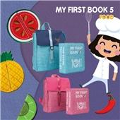 My First Book-Food食物版布书