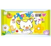 华联 真爱湿巾7+3片卡通装