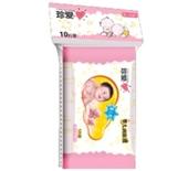 华联 真爱婴儿柔湿巾10片
