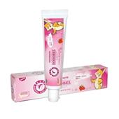 朵朵贝儿天然蜂胶儿童防蛀专用牙膏(草莓牙膏)