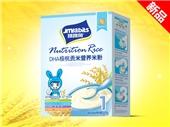 跳跳兔DHA核桃贡米营养米粉