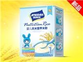 跳跳兔婴儿贡米营养米粉