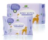 英国小树苗 100%竹纤维 婴儿全护柔湿巾(全面清洁)