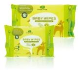 英国小树苗 100%竹纤维 婴儿清洁柔湿巾(手口专用)