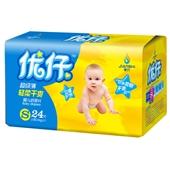 优仔纸尿片 婴儿纸尿片 小号|湖南健氏