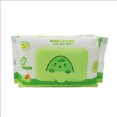 鳄鱼宝宝橄榄婴儿手口湿巾