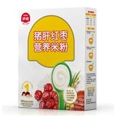 伊威猪肝红枣营养米粉