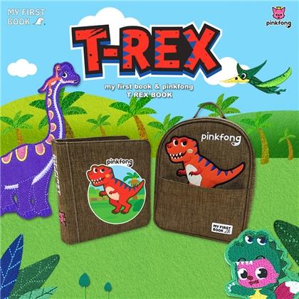 My First Book-pinkfong-T REX book霸王龙版布书