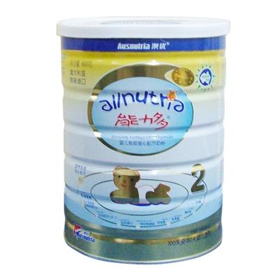 澳优能力多婴儿配方奶粉2阶段800g/厅