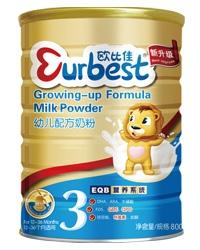 欧比佳幼儿配方奶粉