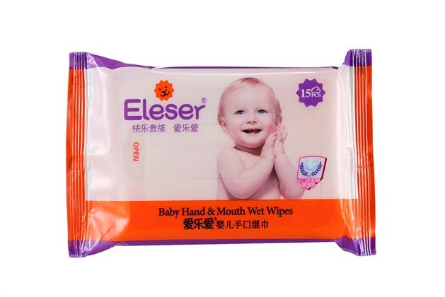 爱乐爱婴儿手口湿巾