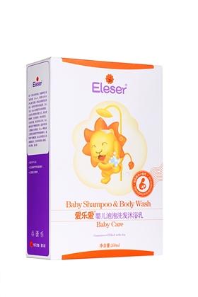 爱乐爱婴儿泡泡洗发沐浴乳