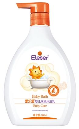 爱乐爱婴儿泡泡沐浴乳