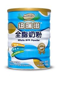 纽瑞滋全脂奶粉罐装800g