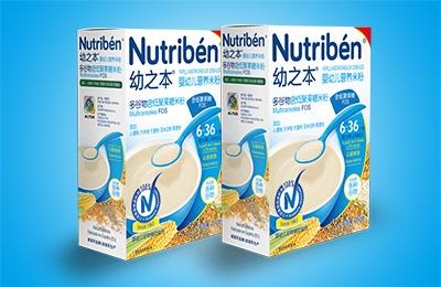 幼之本多谷物含低聚果糖米粉