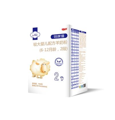 蓓康僖纯羊时代婴幼儿配方羊奶粉 2段