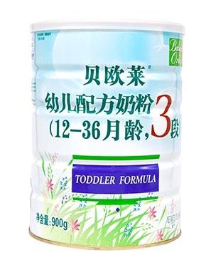 贝欧莱有机较大婴儿配方奶粉2段