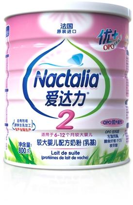 爱达力OPO优较大婴儿配方奶粉